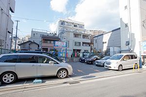 GSパーク六甲道駅前第二駐車場医院から徒歩1分